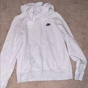 Nike Grey Cowel Neck